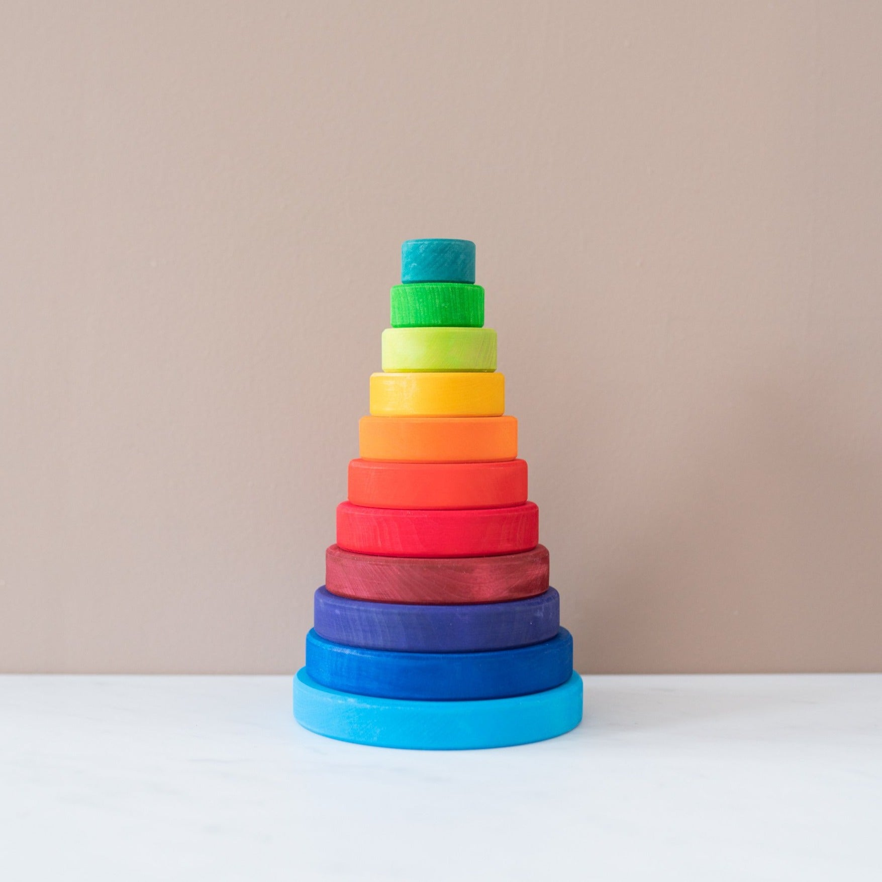 Large Stacking Conical Tower