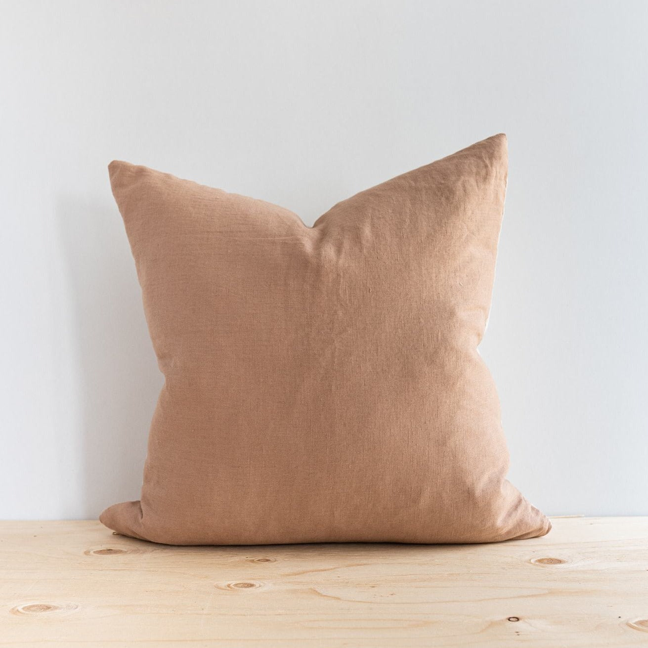 Blush Linen Pillow - Rug & Weave