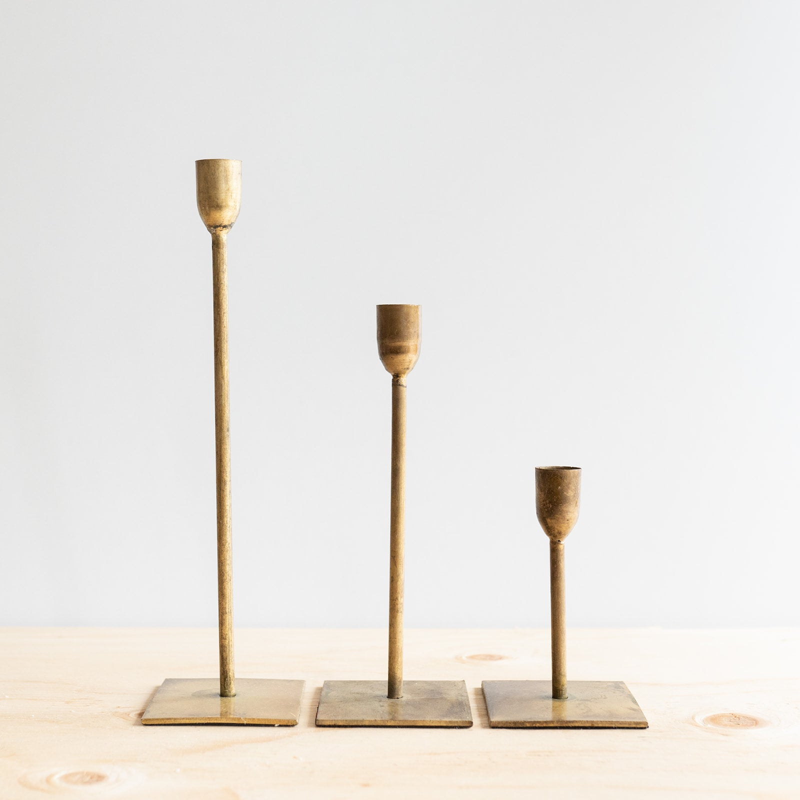 Gold Candle Holder - Rug & Weave