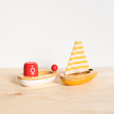 Wooden Sailboat - Rug & Weave