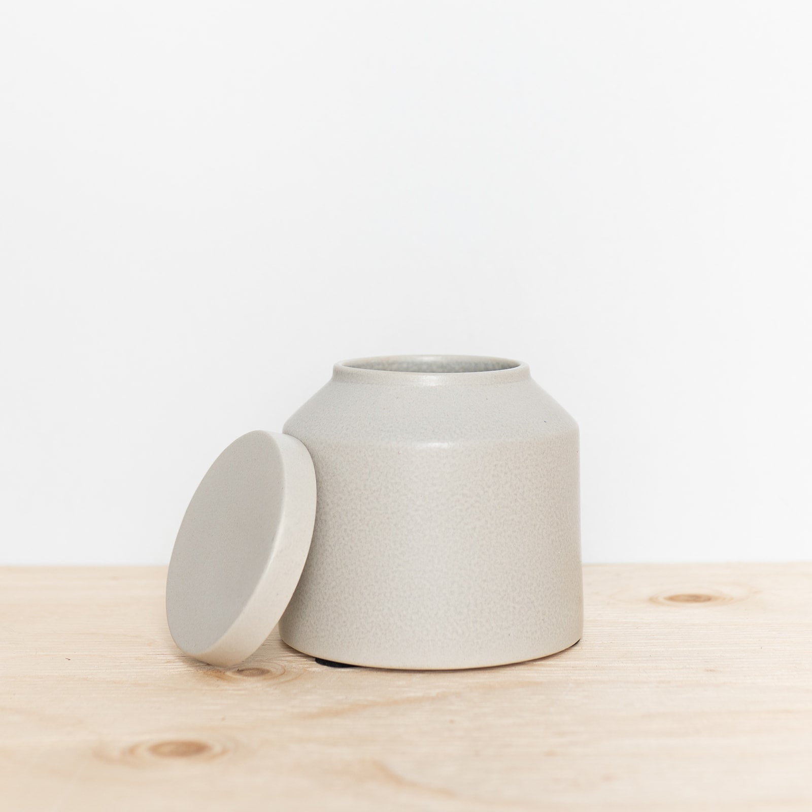 Stoneware Storage Pot