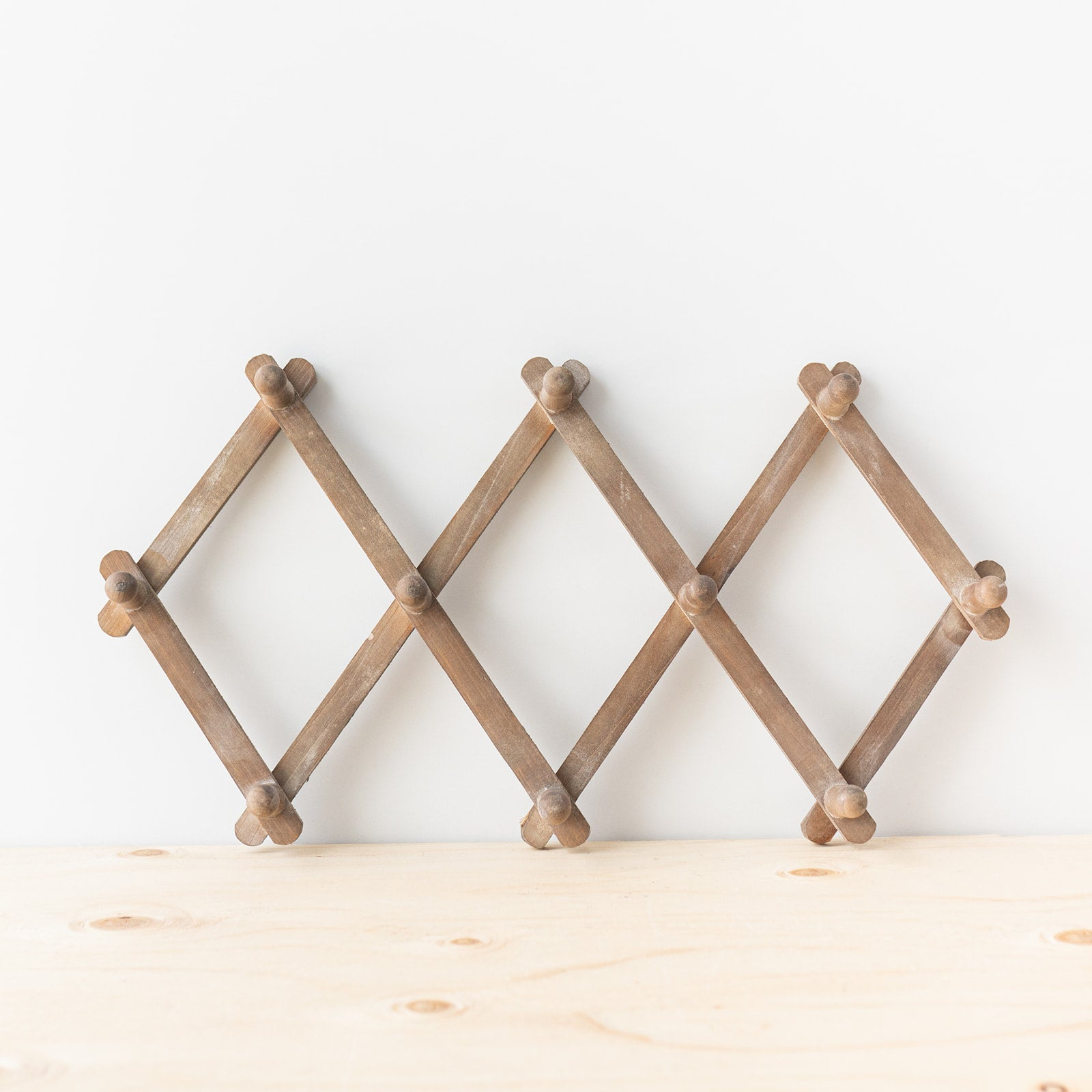 Wooden Accordion Wall Hanger - Rug & Weave