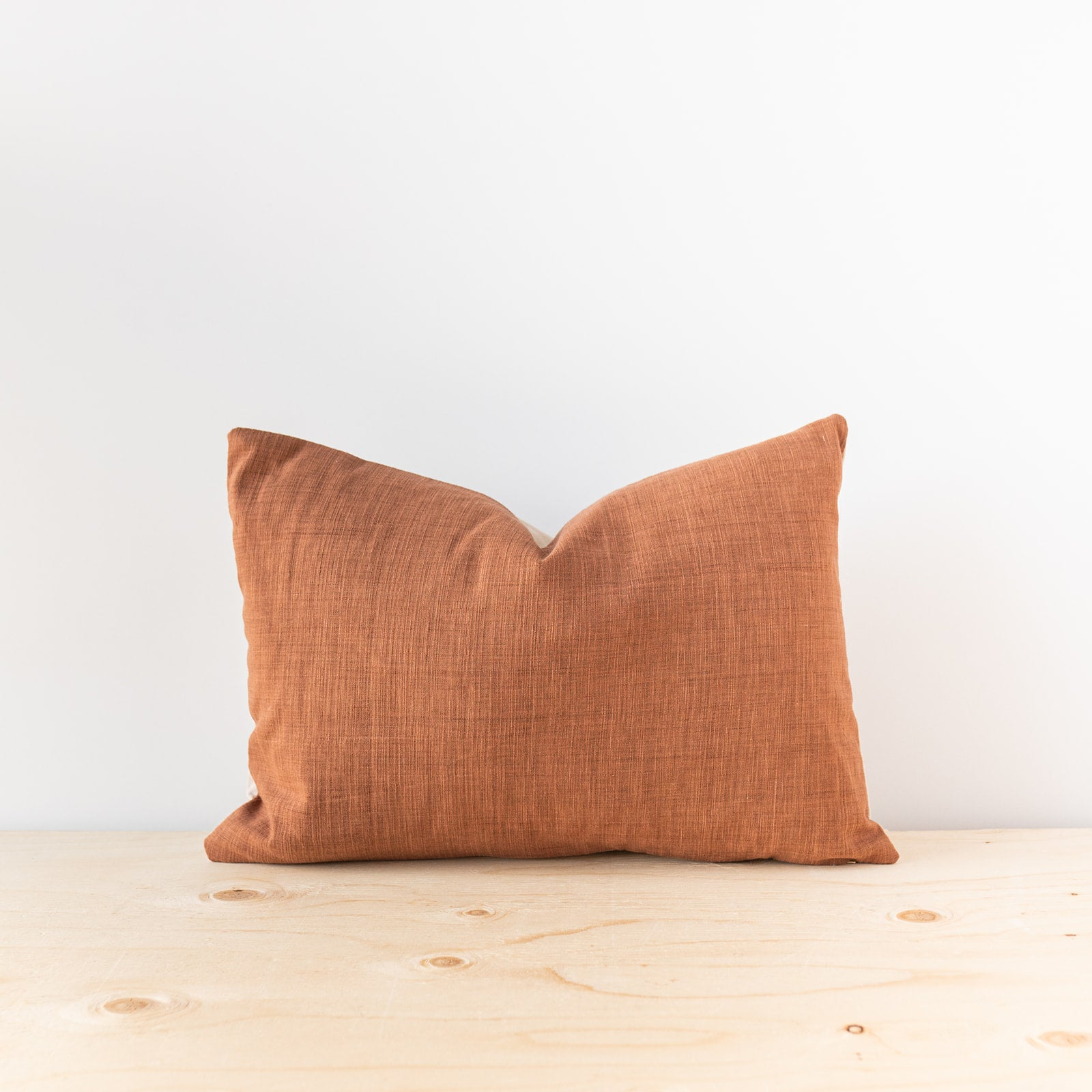 Terracotta Thai Woven Pillow