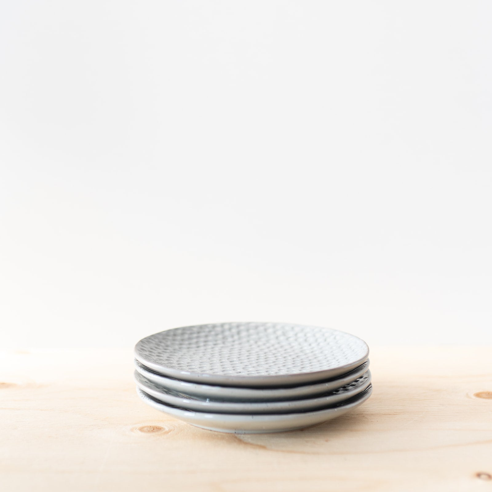 Grey Stoneware Plate - Rug & Weave
