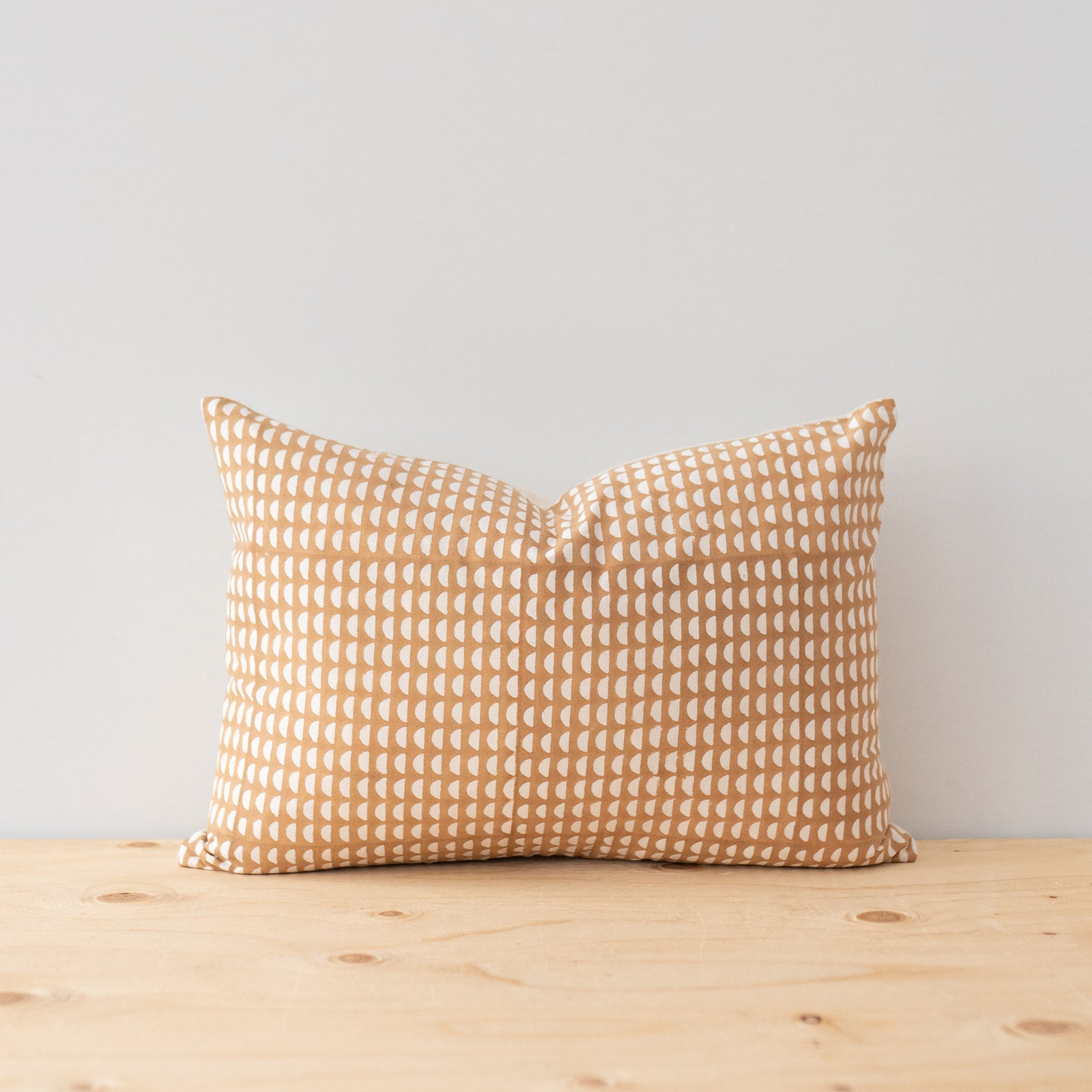 Beige Stripes Linen Pillow