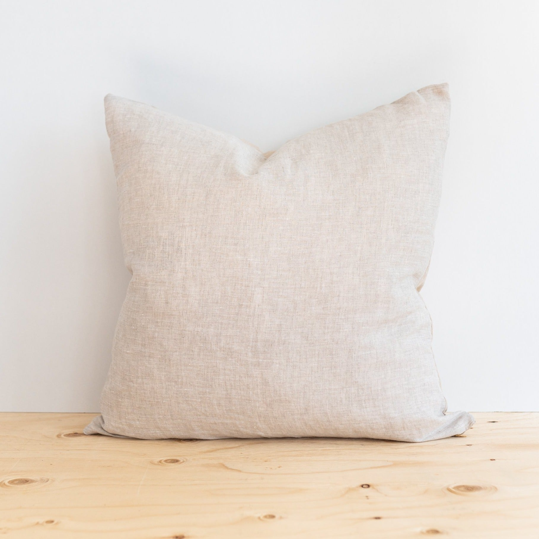 Sandy Linen Pillow - Rug & Weave