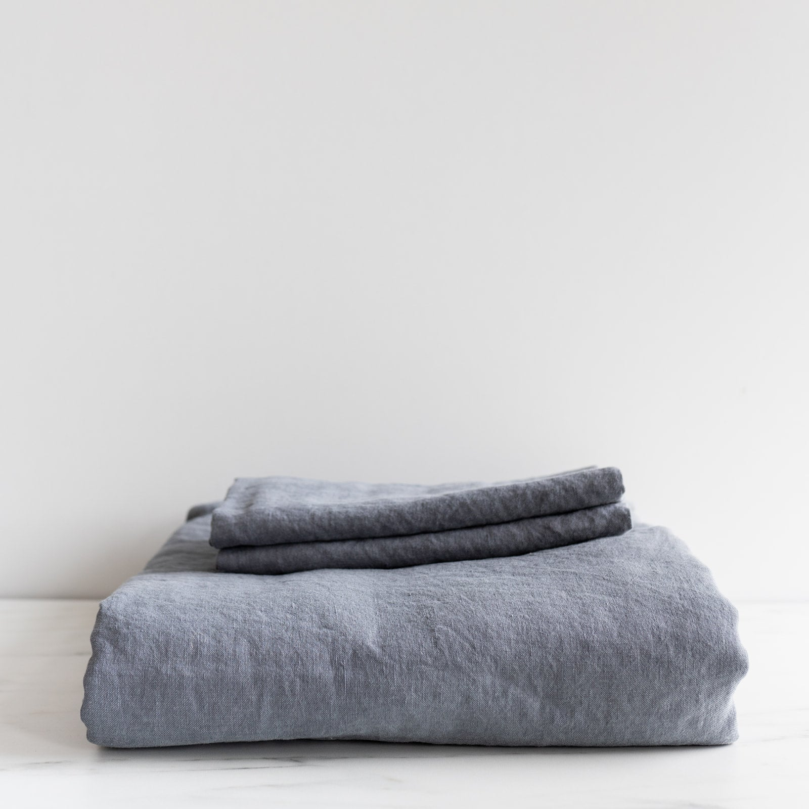 Smoke Linen Duvet Cover