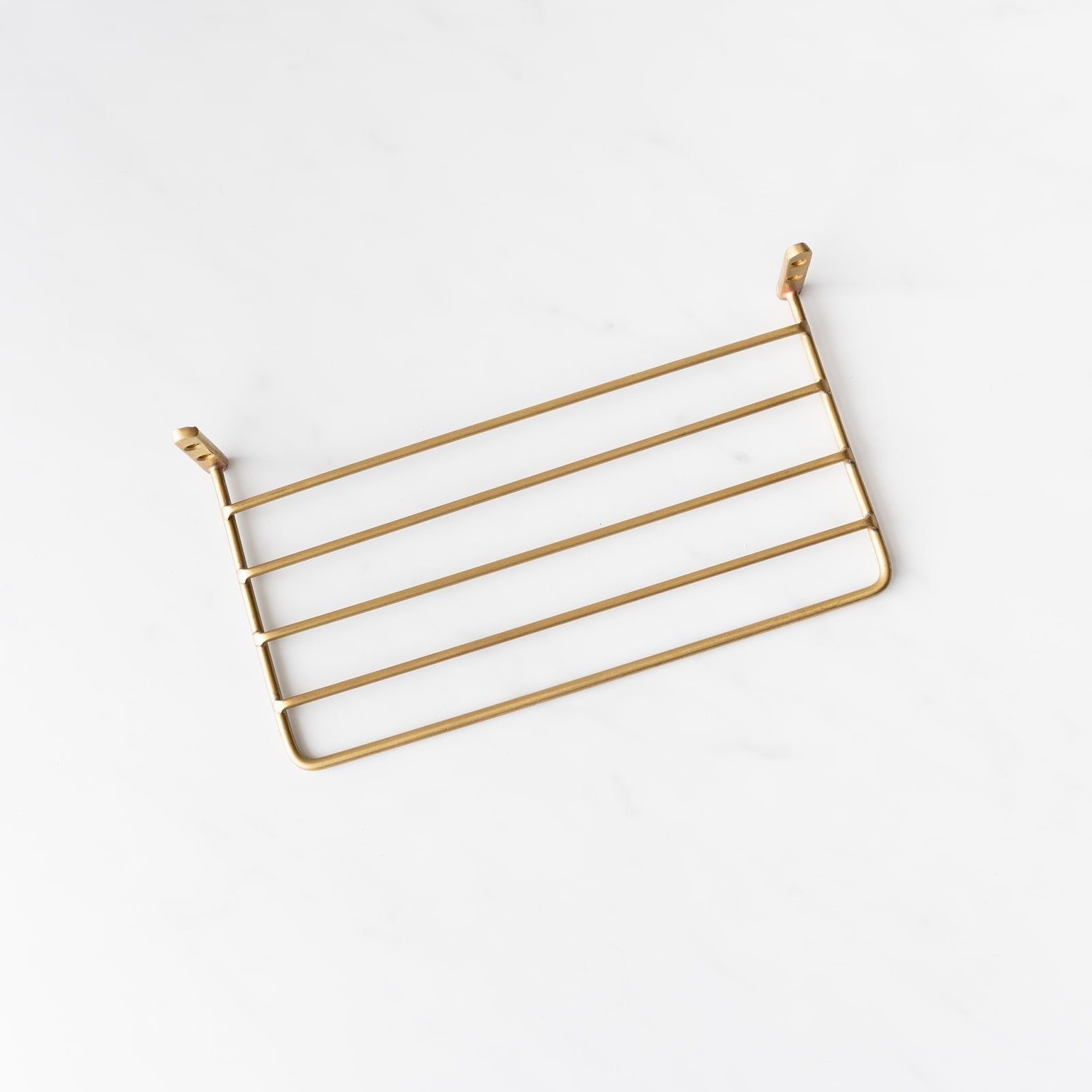 Brass Wire Shelf - Rug & Weave