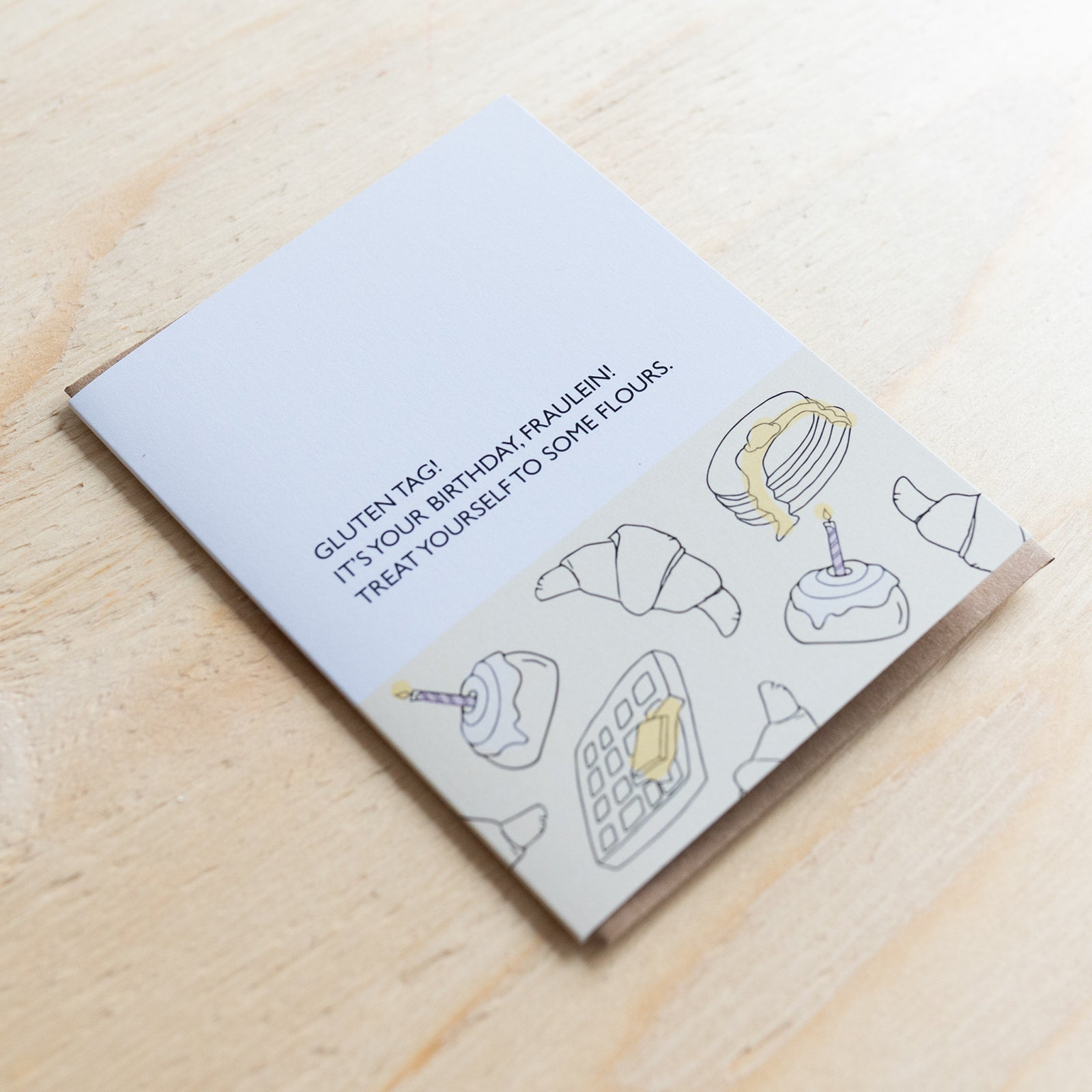 Gluten Tag Card - Rug & Weave