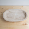 Whitewashed Wooden Tray - Rug & Weave