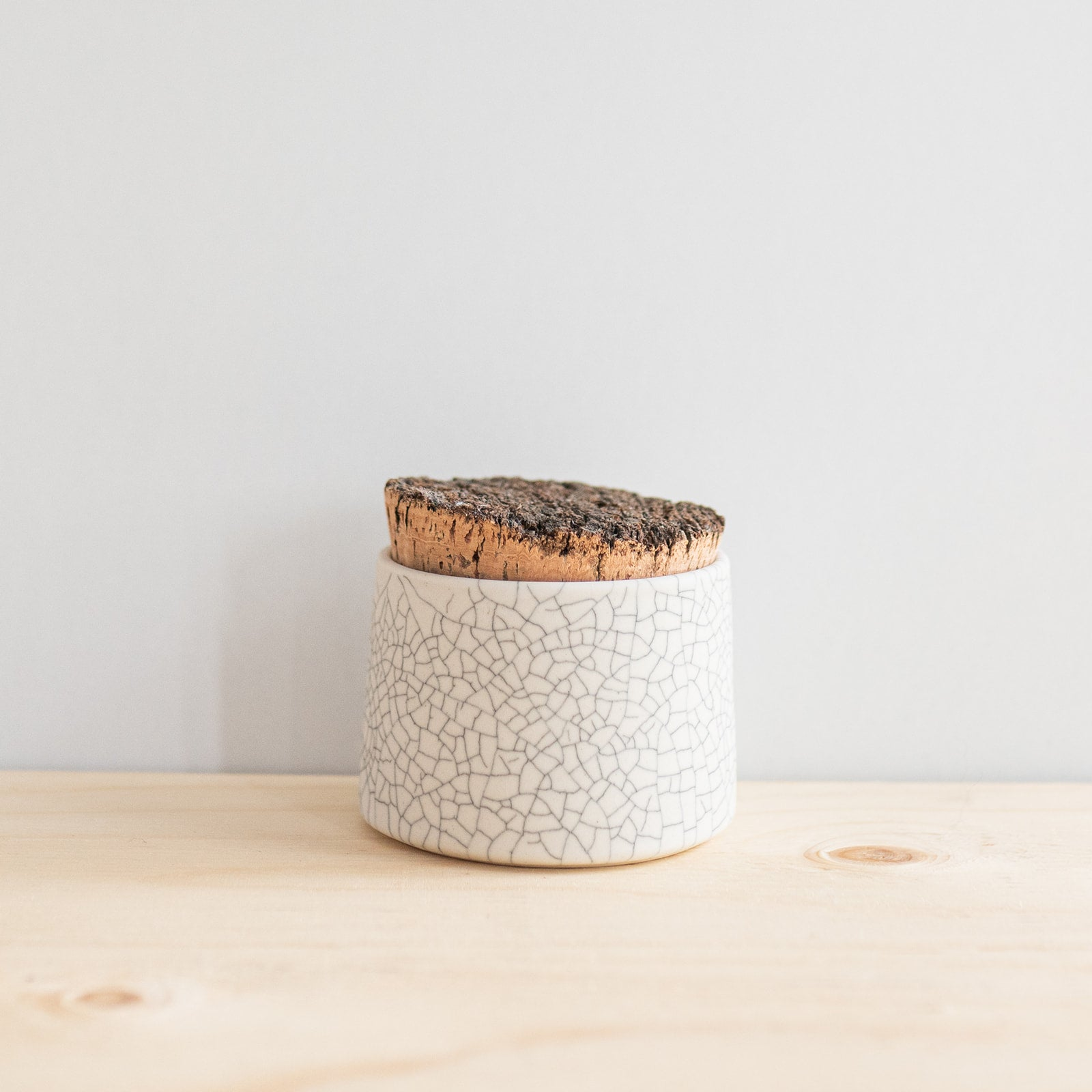 Crackle Sugar Jar - Rug & Weave