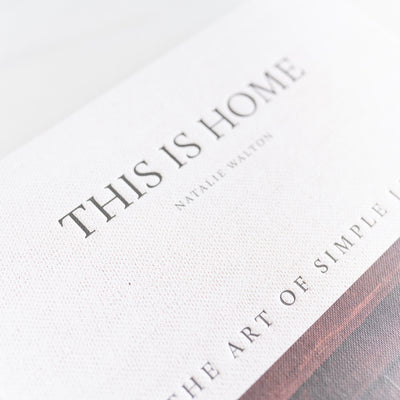 """This Is Home: The Art of Simple Living"" - Rug & Weave"