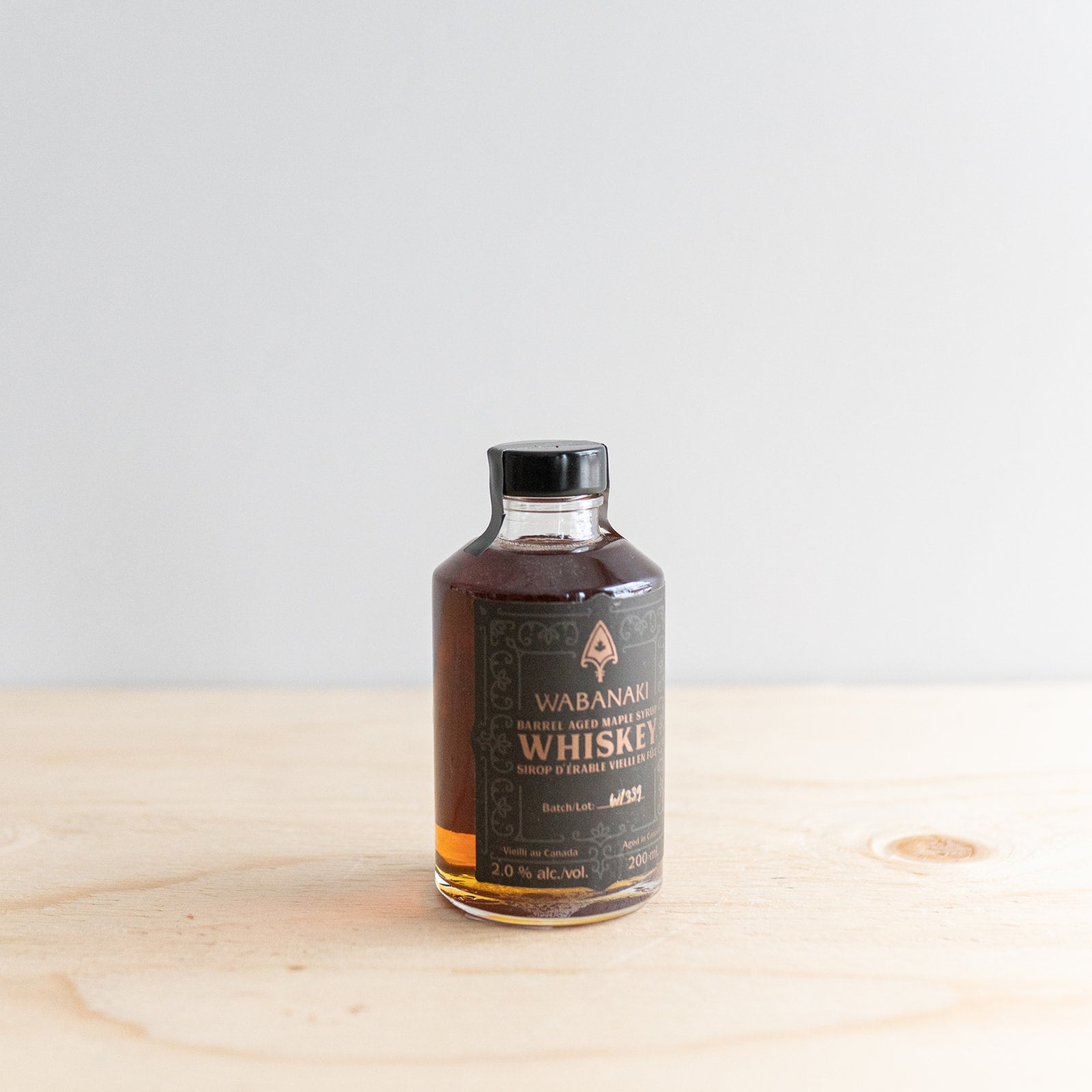 Barrel Aged Whiskey Maple Syrup