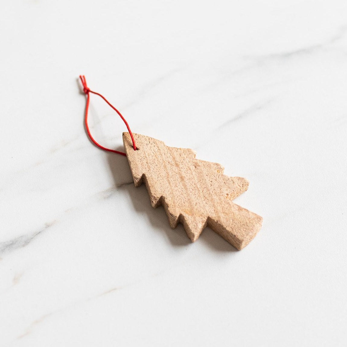 Wood Tree Ornament - Rug & Weave