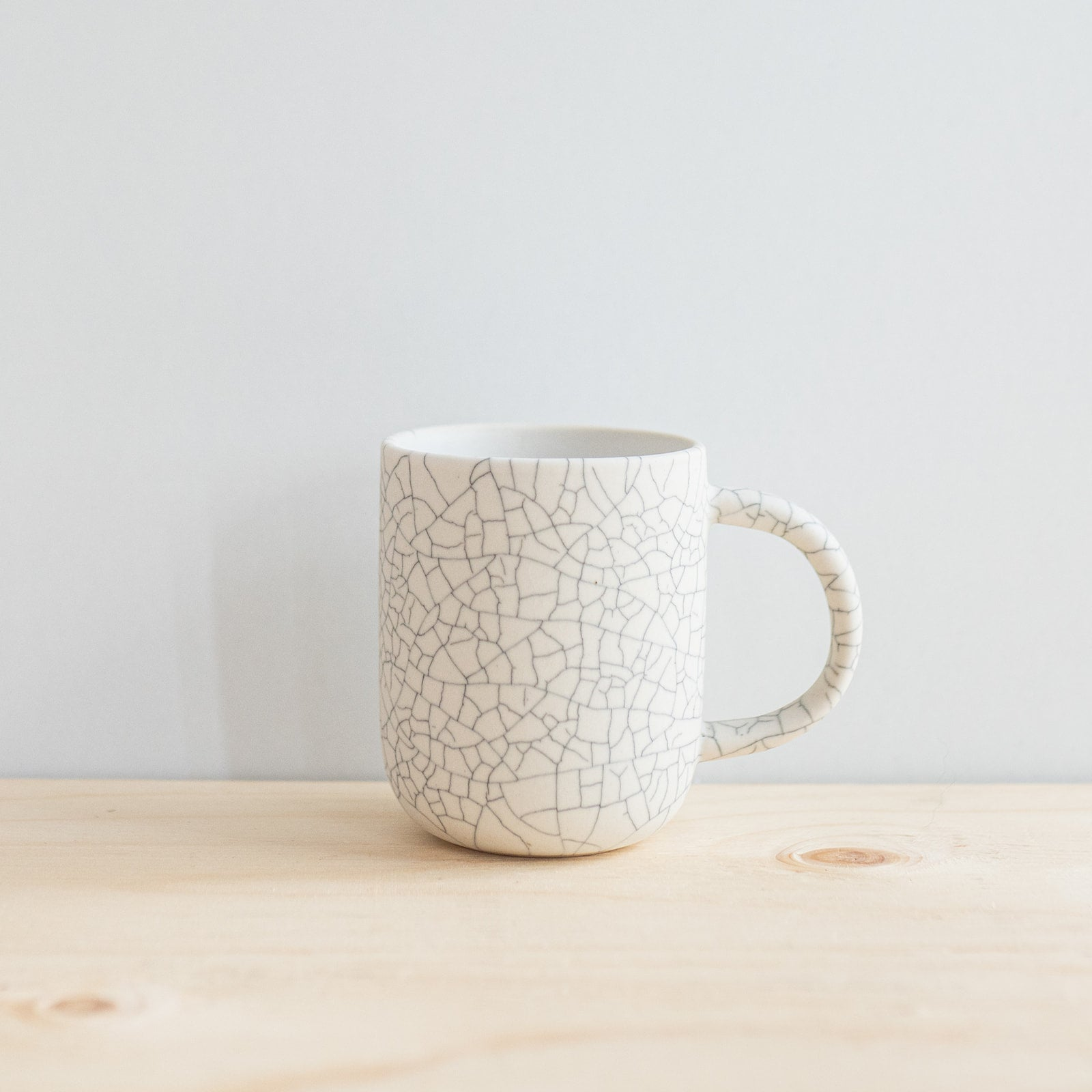 Crackle Pebble Mug