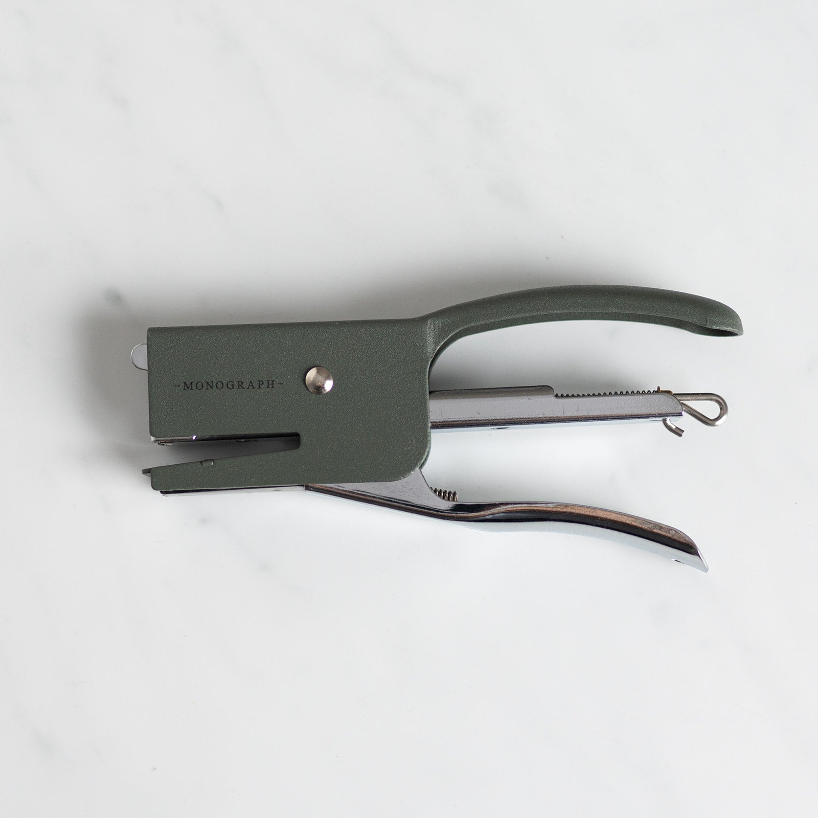 Green Handheld Stapler