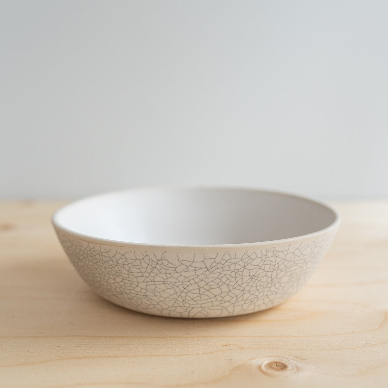 Crackle Serving Bowl - Rug & Weave