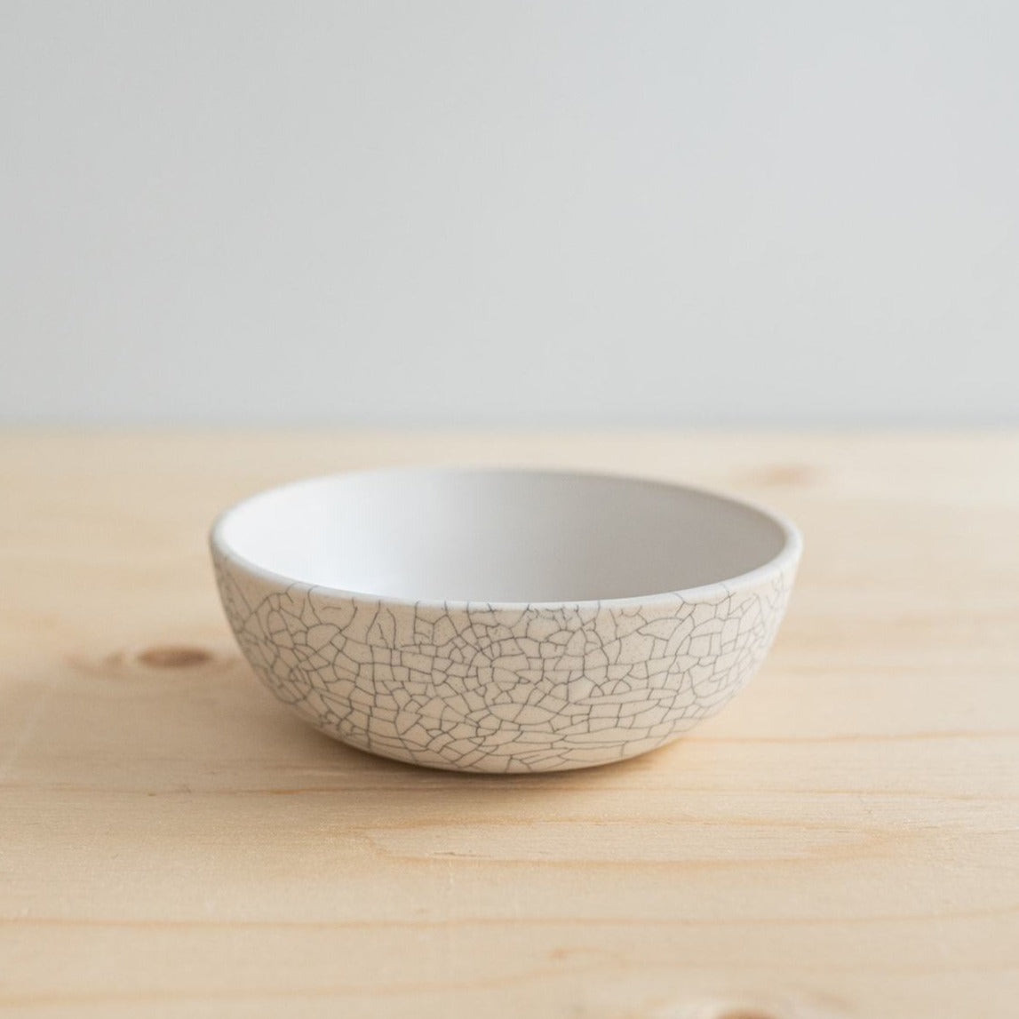Crackle Snack Bowl - Rug & Weave