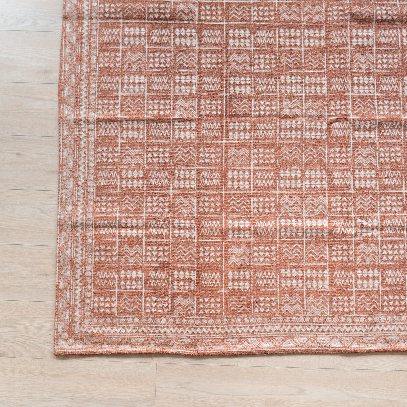 Brushed Aztec Rug