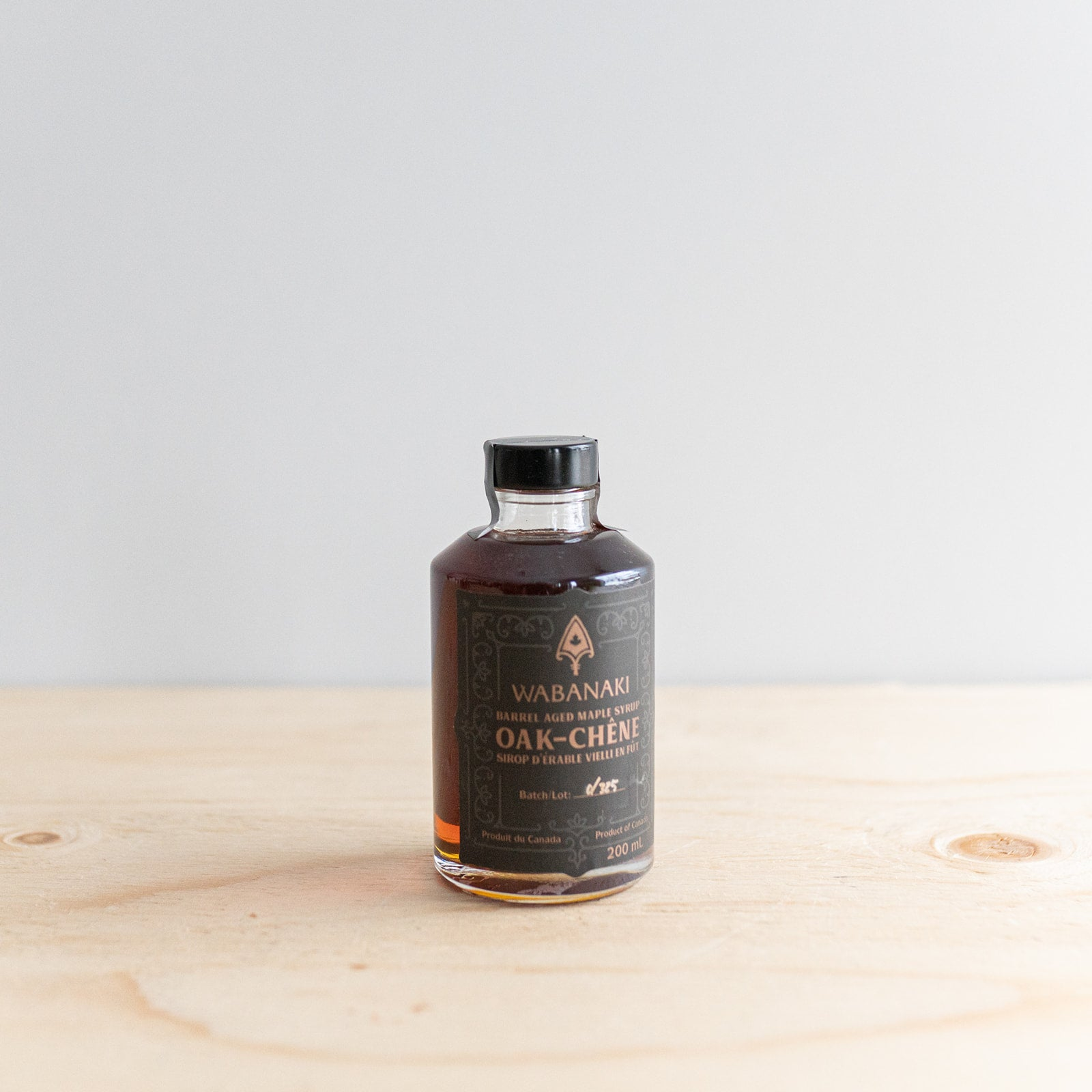 Barrel Aged Toasted Oak Maple Syrup