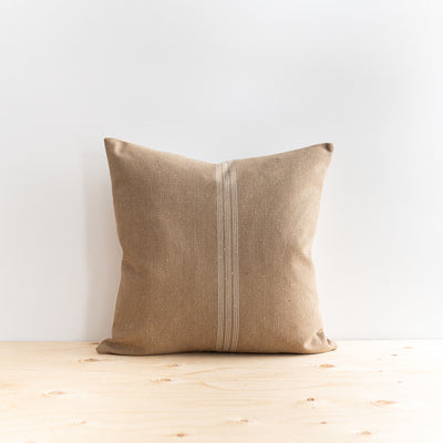 Pistachio Grain Sack Pillow - Rug & Weave