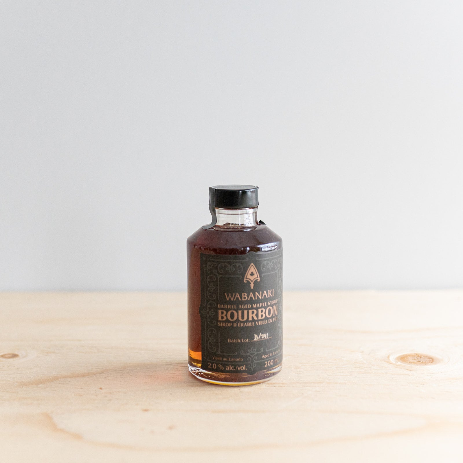 Barrel Aged Bourbon Maple Syrup