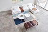 Gus* Modern Array Round Coffee Table - Rug & Weave