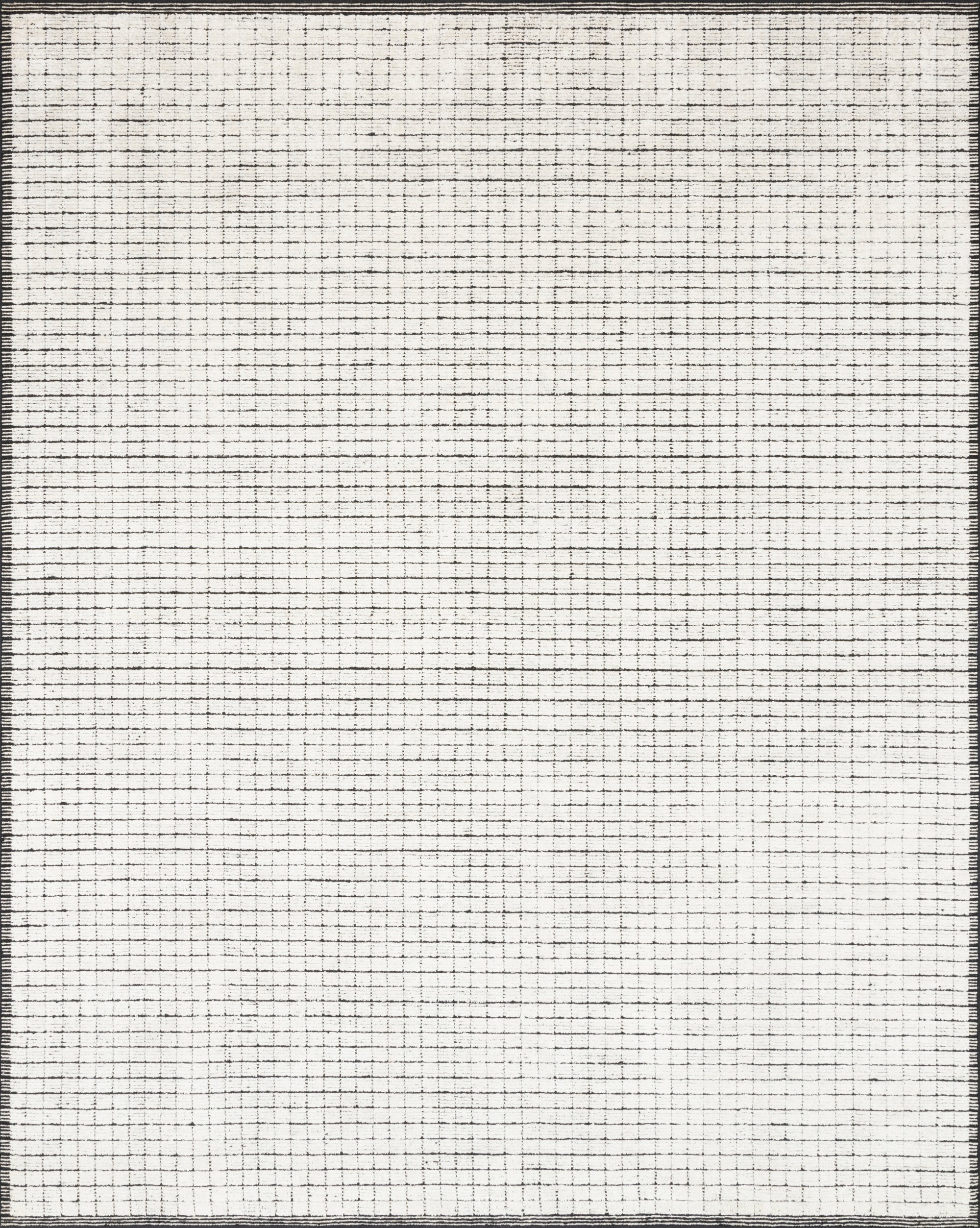 Loloi Beverly Ivory / Black - Rug & Weave
