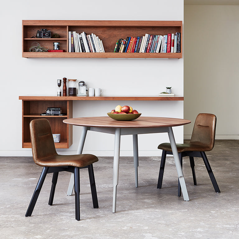Gus* Modern Bracket Round Dining Table - Rug & Weave