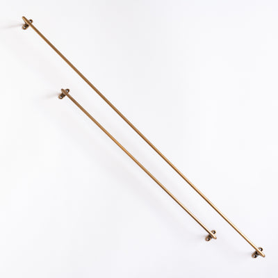 Brass Towel Bar - Four Sizes - Rug & Weave