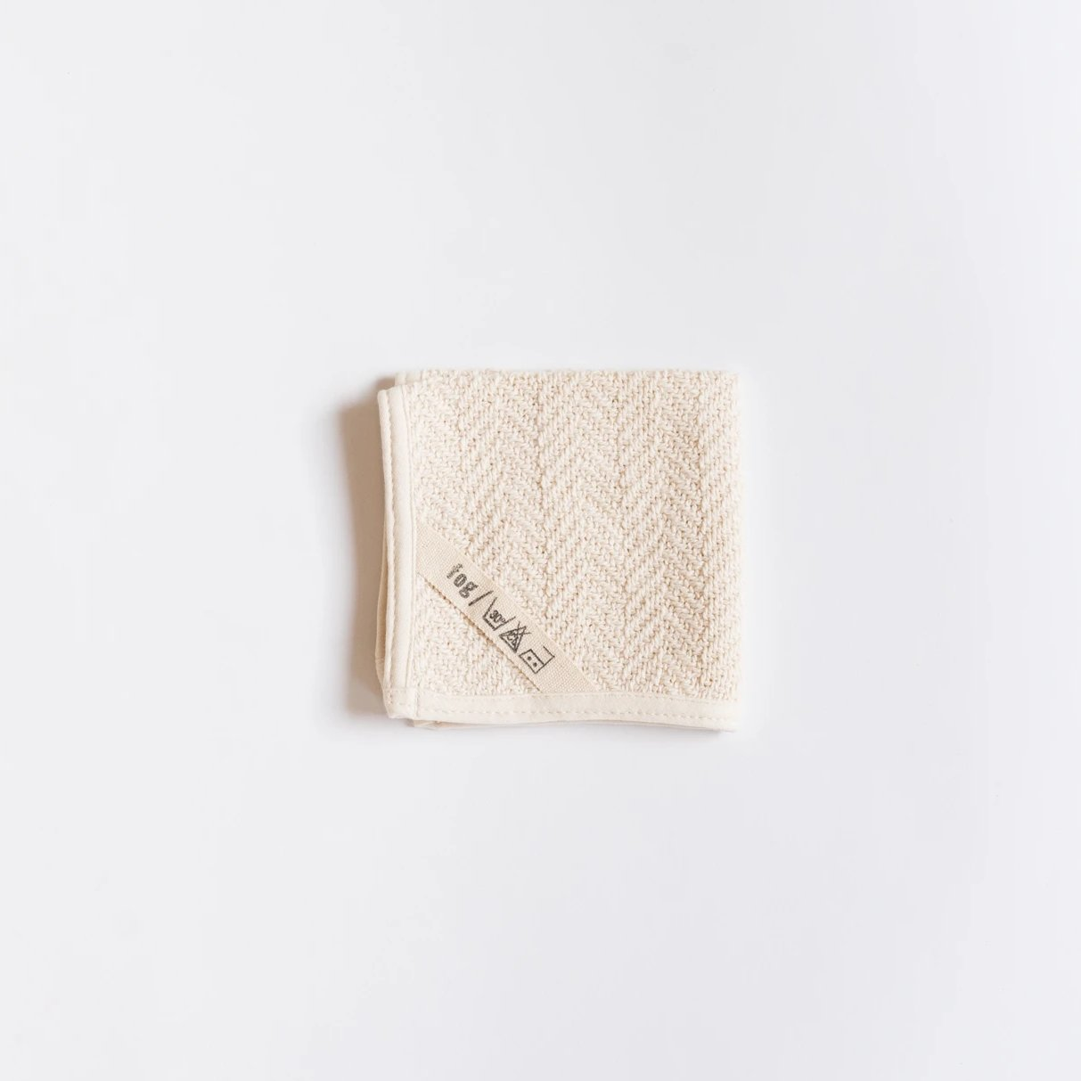 Herringbone Wash Cloth - Rug & Weave