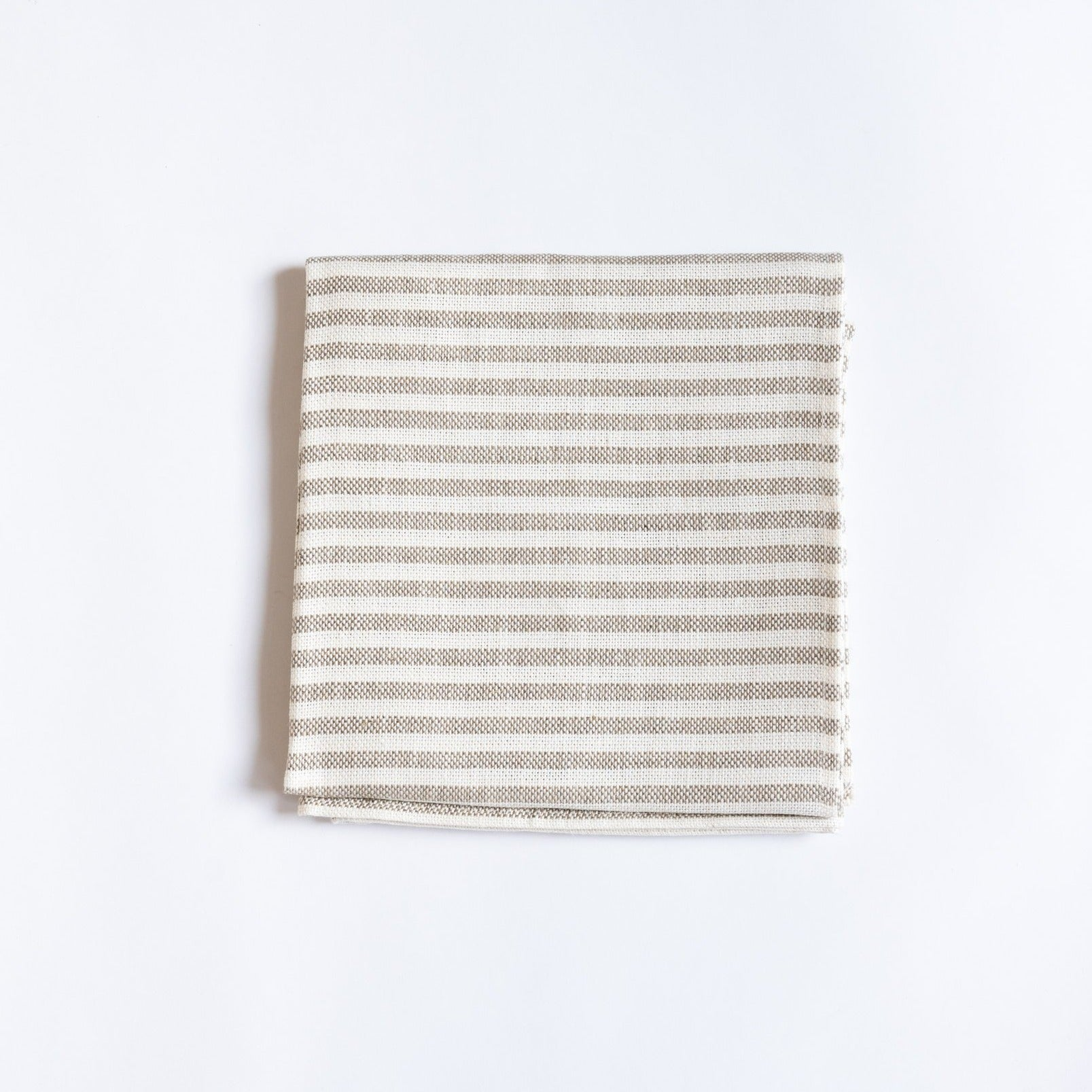 Linen Stripe Chambray Towel - Rug & Weave