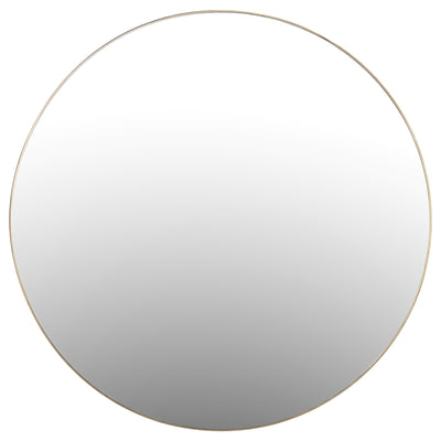 Bella Brass Wall Mirror - Rug & Weave
