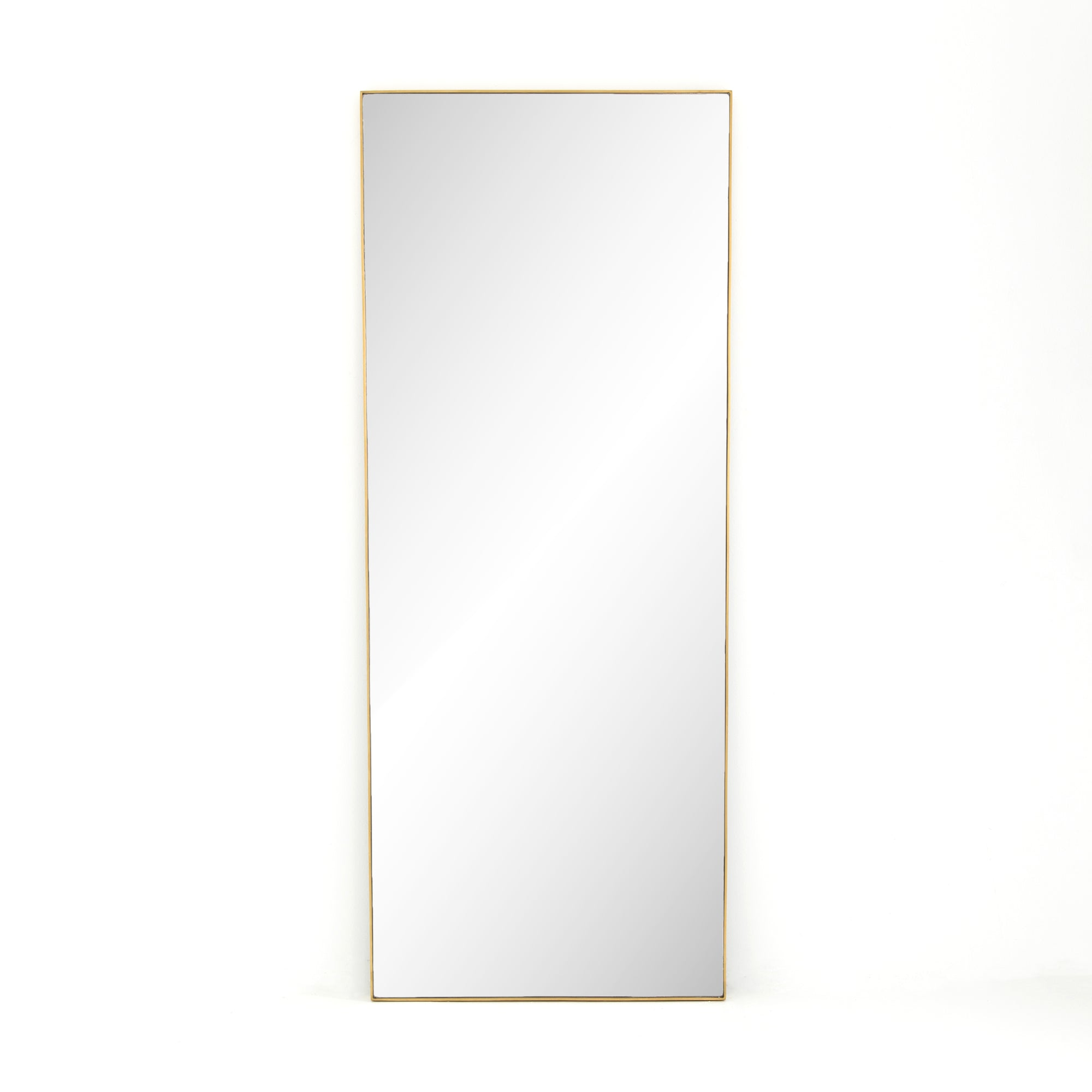Bella Brass Floor Mirror