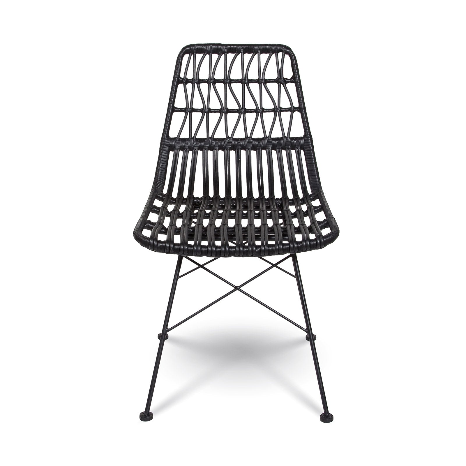 Callie Dining Chair / Black - Rug & Weave