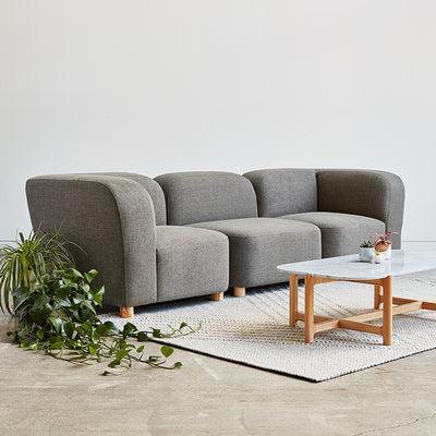 Circuit Modular 3 pc Sofa - Rug & Weave