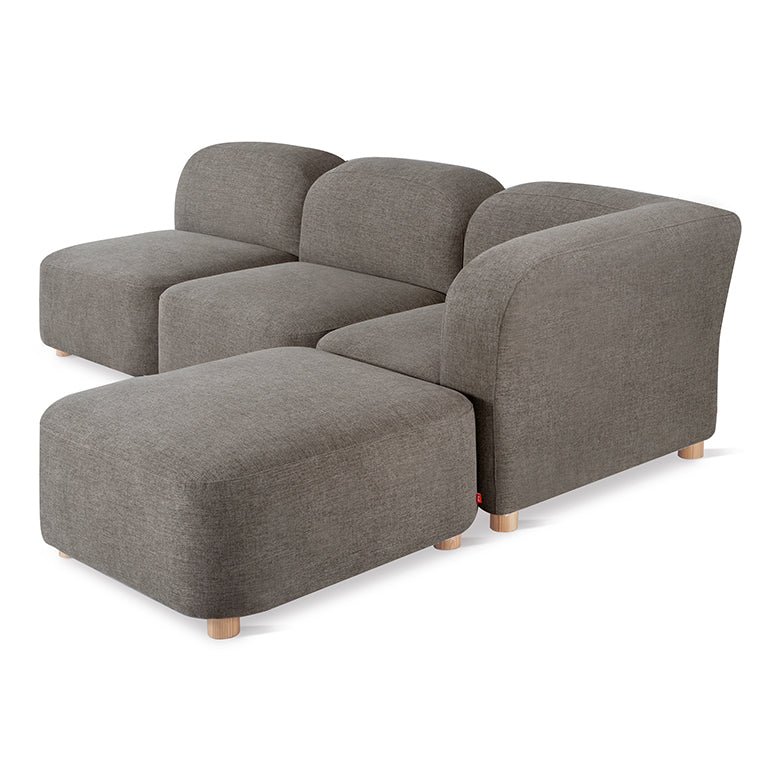 Gus* Modern Circuit Modular 4-pc Sectional