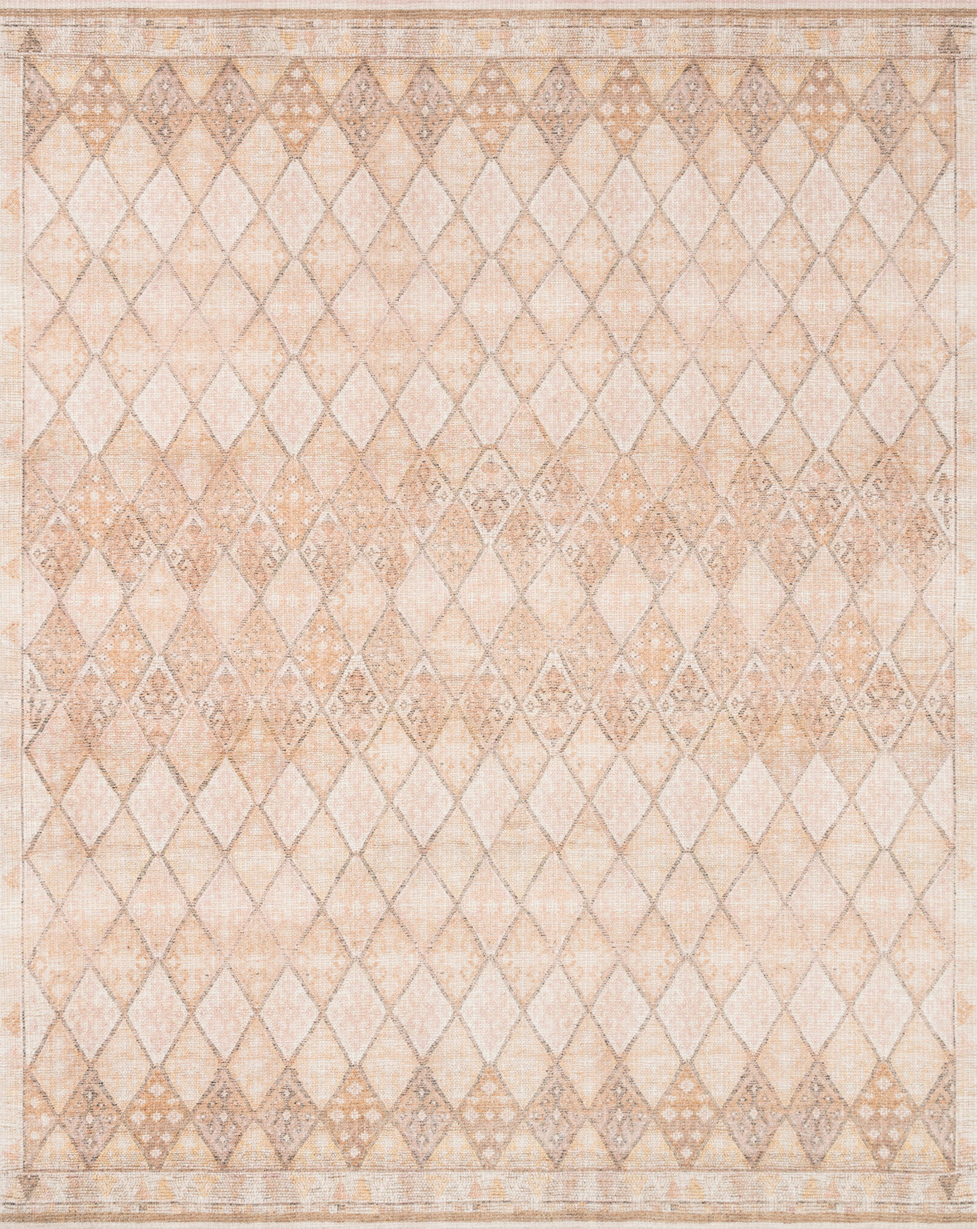 Loloi Deven Ochre / Neutral Rug - Rug & Weave