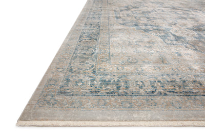 Loloi Elise Neutral / Blue Rug - Rug & Weave