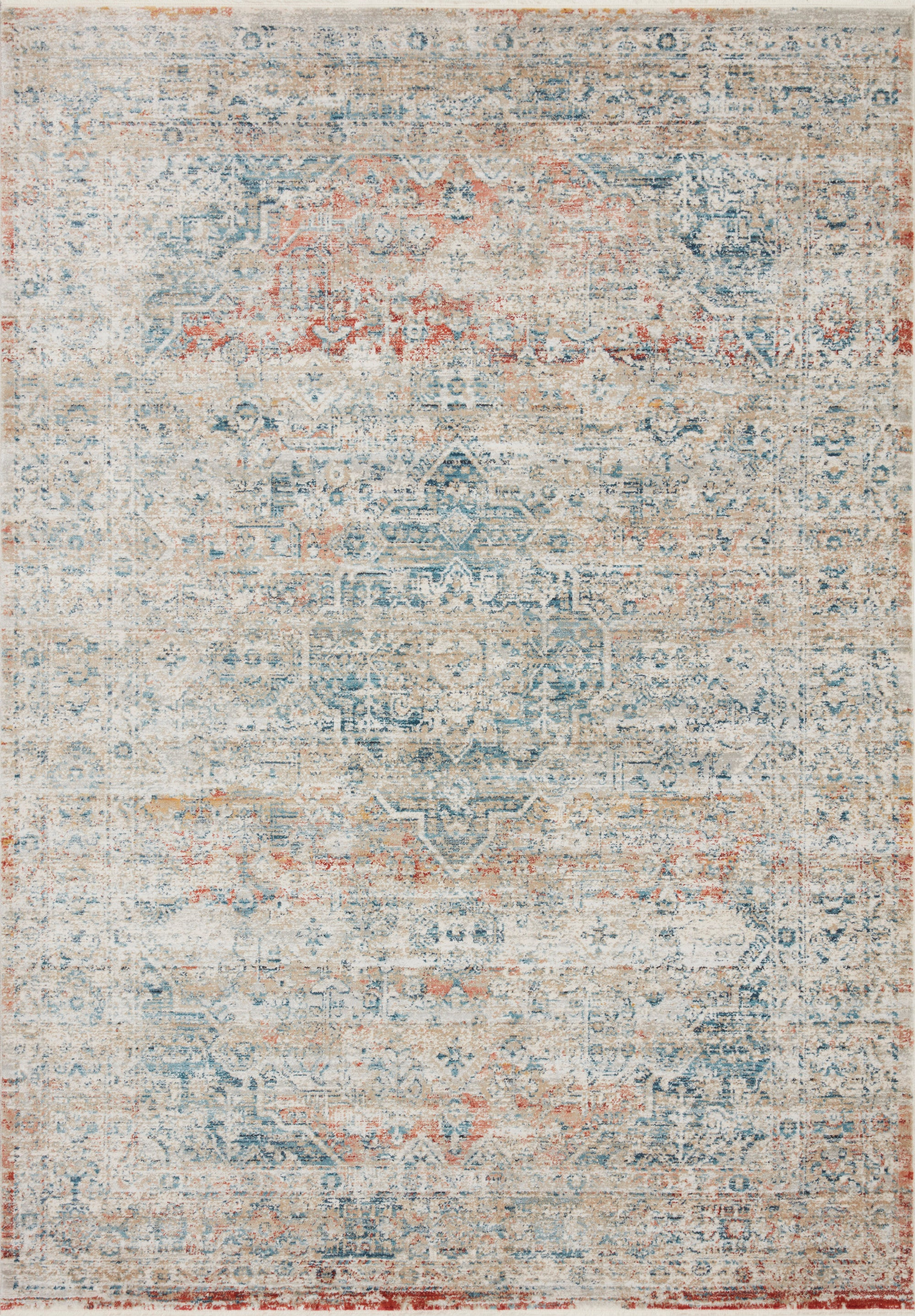 Loloi Elise Neutral / Multi Rug - Rug & Weave