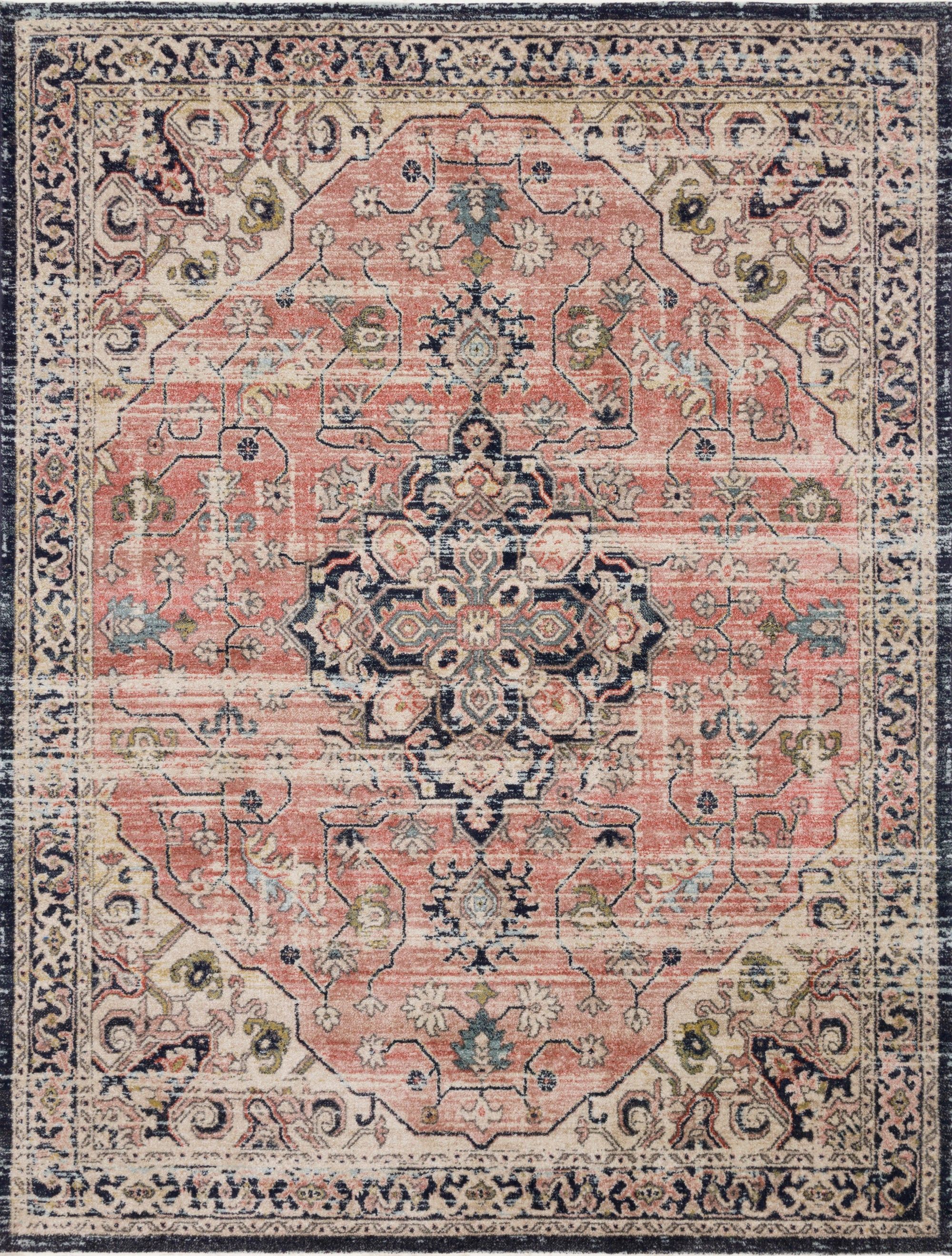 Loloi Graham Coral Rug - Rug & Weave