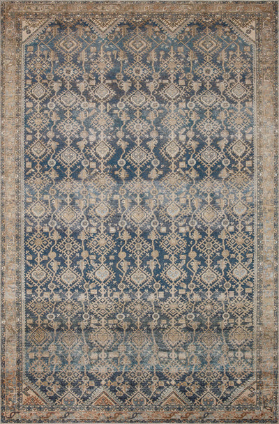 In Store Rug - Lenna Indigo / Natural - Rug & Weave