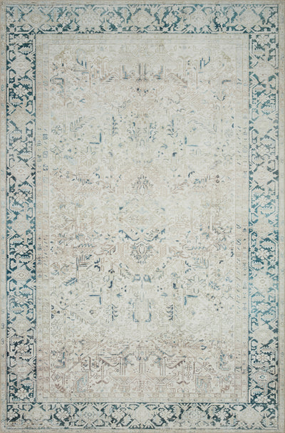 Loloi Lenna Natural / Denim - Rug & Weave