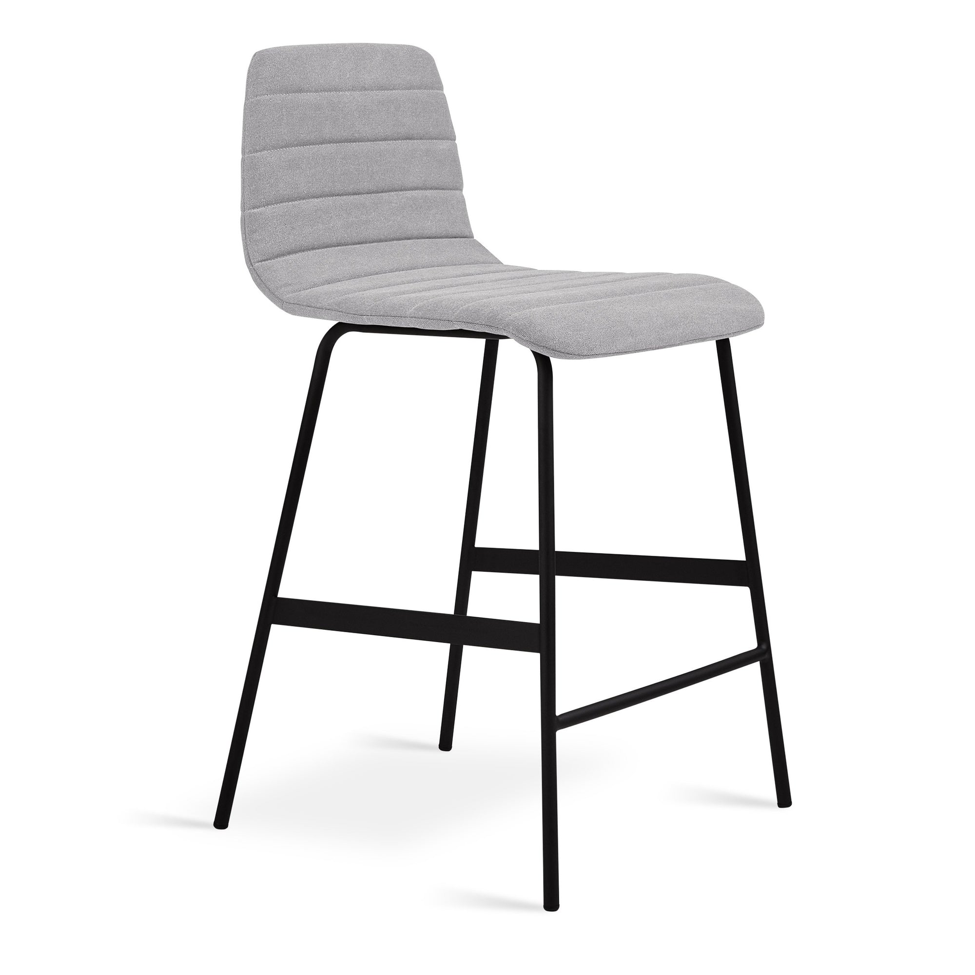 Gus* Modern Lecture Upholstered Counter Stool - Rug & Weave