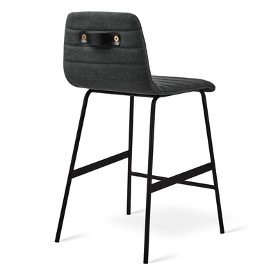 Lecture Upholstered Counter Stool - Rug & Weave