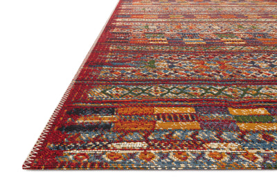 Loloi Mika Red / Multi Rug - Rug & Weave