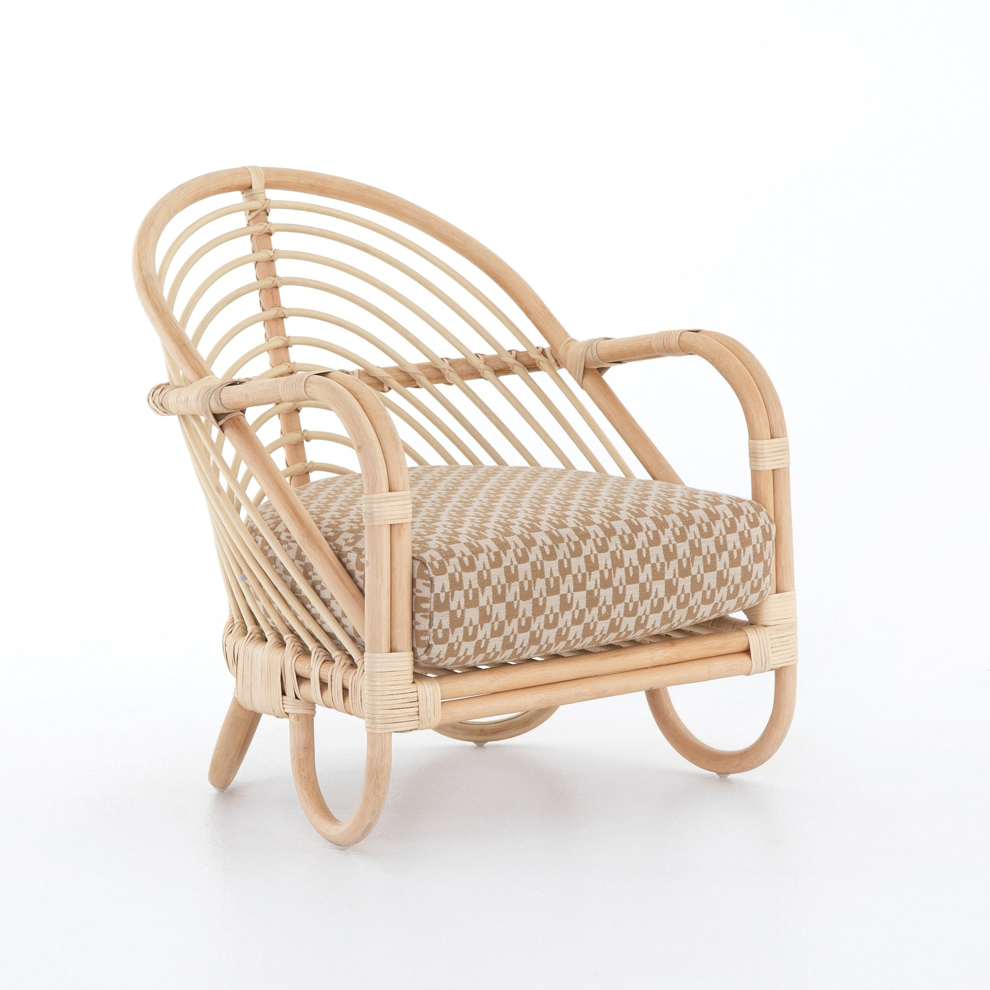 Miranda Rattan Lounge Chair - Rug & Weave