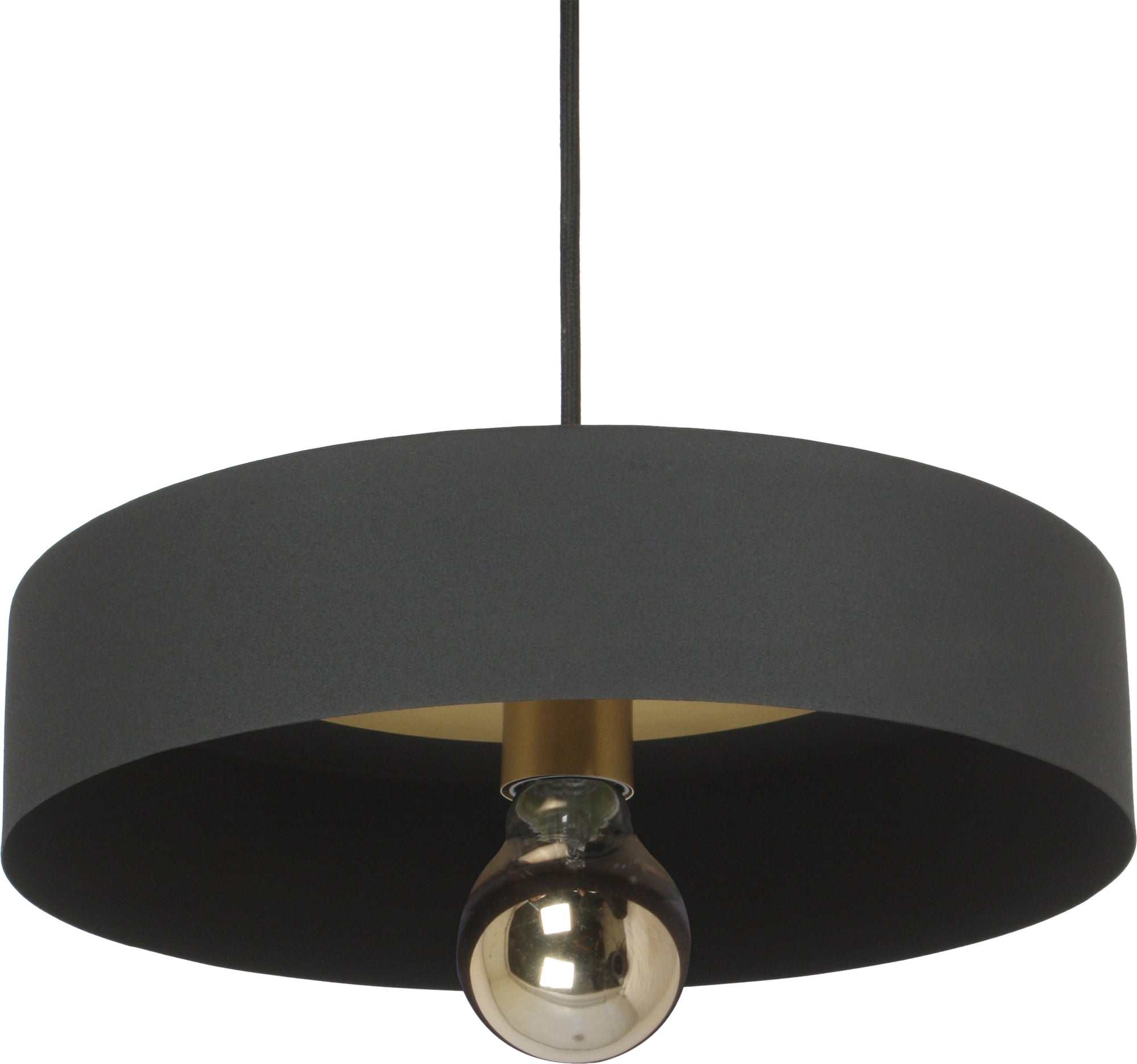 Monty Iron & Brass Pendant Light
