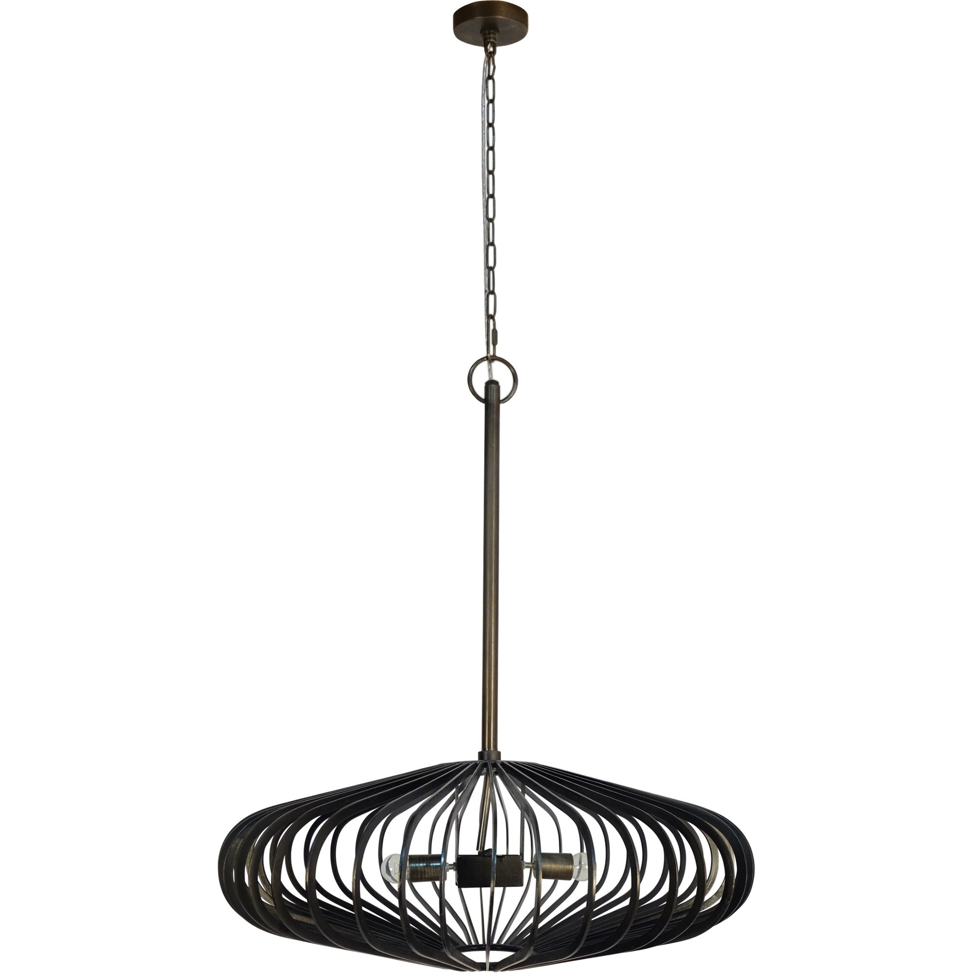 Octavia Iron Pendant Light