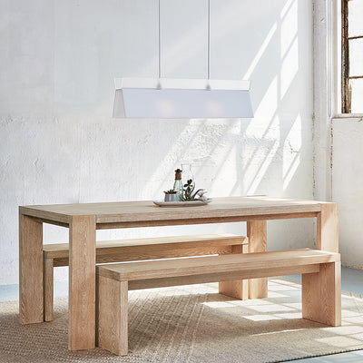 Plank Dining Bench - Rug & Weave